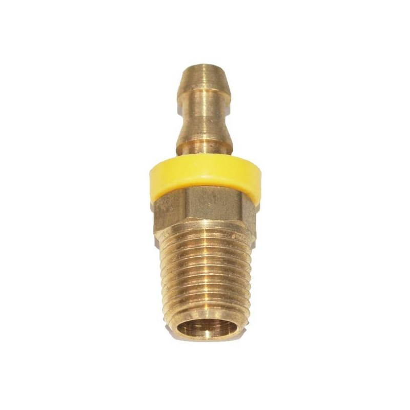 Hose Barb Gripon 1/4in to 1/4in npt