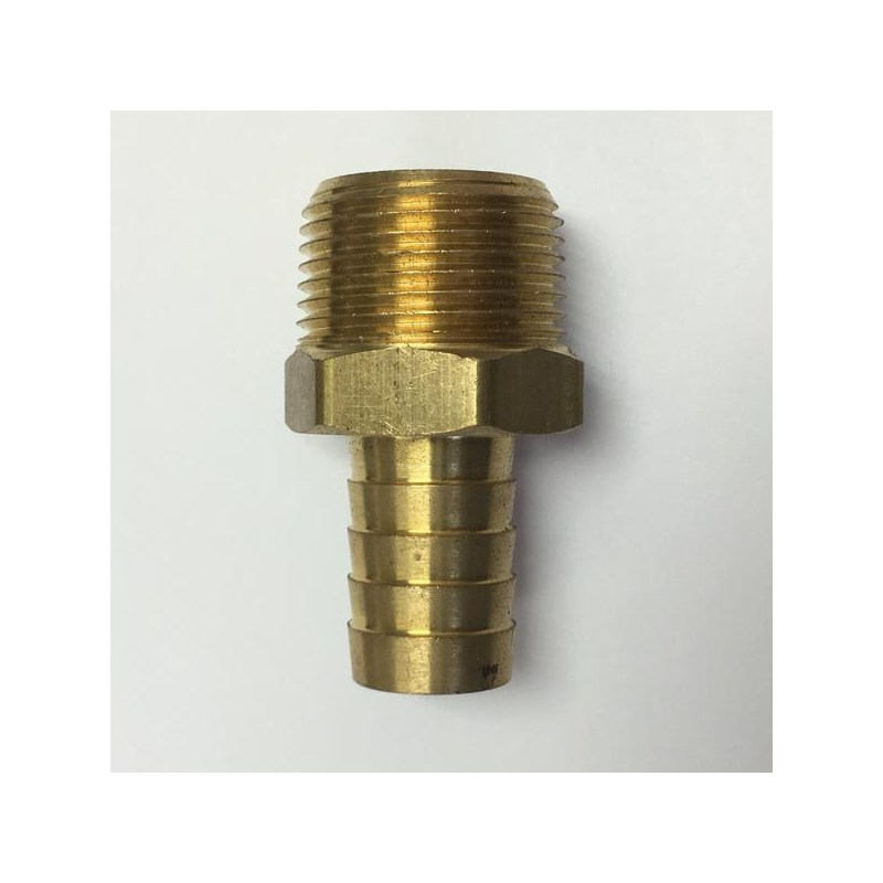 Hose Barb 5/8in to 3/4in Male Pipe