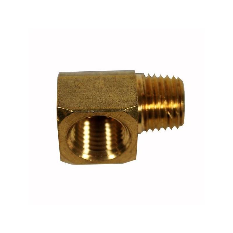 Street Elbow Brass 1/4in