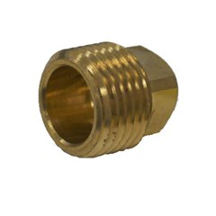 Plug 1/2 Male NPT Brass