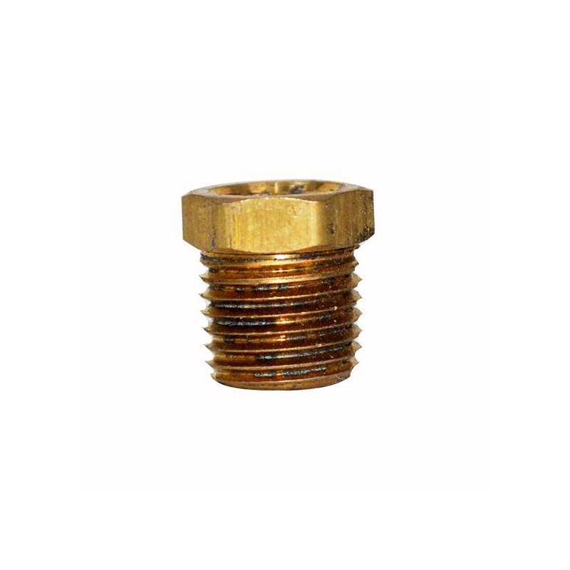 Bushing Hex Brass 1/4in X 1/8in