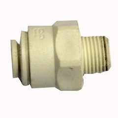 Male Connector 1/4in x 1/8in
