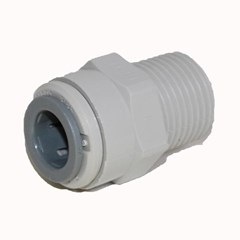 Male Connector NPTF 3/8 x 1/4