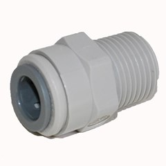Male Connector NPTF 3/8 x 3/8