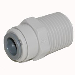 Male Connector NPTF 3/8 x 1/2