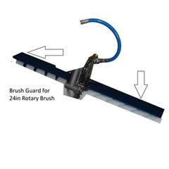 Guard for Rotary Brush 32in