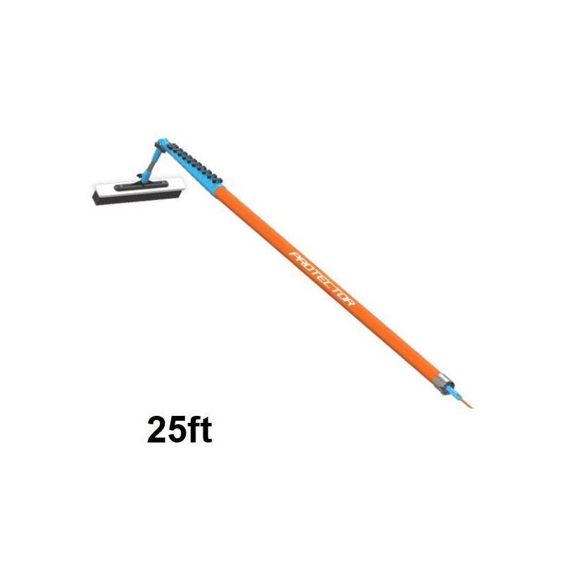 Vertigo Pole CF 25ft w/Protector 14in DT