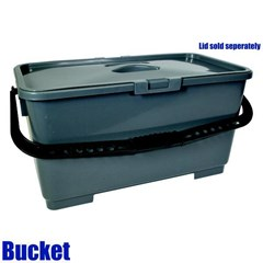 Bucket Rectangular Gray 06 Gal