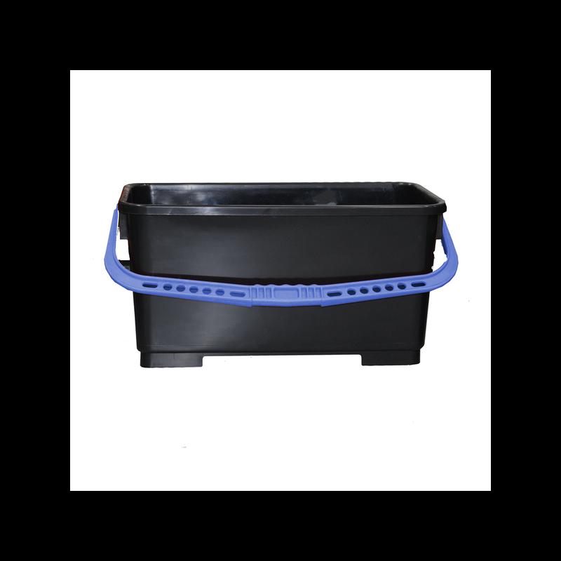 Bucket Black w/Blue Handle Pulex