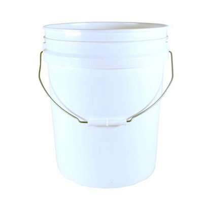 Bucket White 5Gal Round