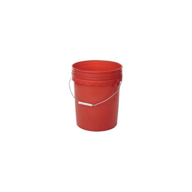Bucket Orange 5Gal Round