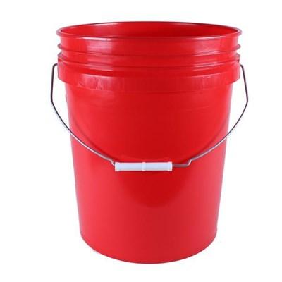 Bucket Black 5Gal Round