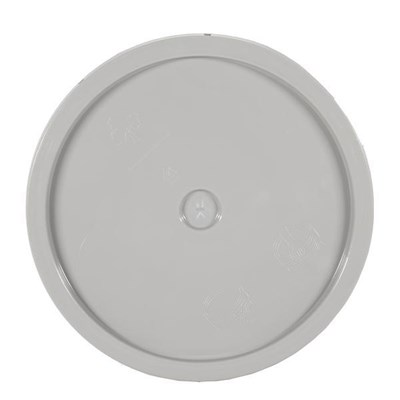 Lid for 5 gal Bucket Grey Gloss Finish