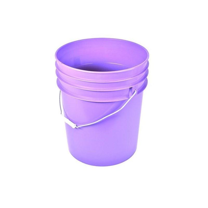 Bucket Purple 5 Gal Round