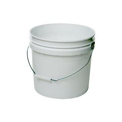 Bucket White 3 1/2 Gal Round
