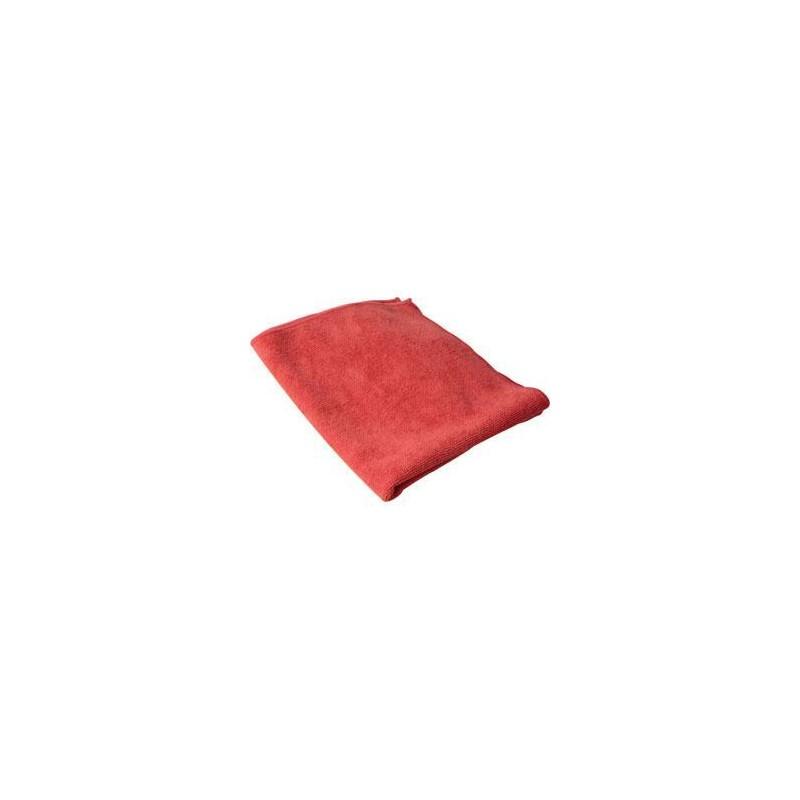 Towel Microfiber Red 16x16 Pro