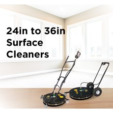 24in to 36in Surface Cleaners
