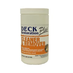 Deck & Wood Cleaner/Remover Powder 2LB DRP