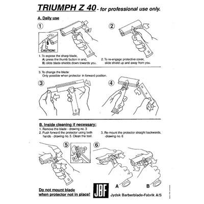 Scraper Triumph Z40 06in Image 88
