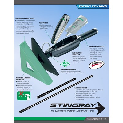 Stingray Indoor Cleaning Kit 3ft Image 88