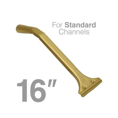 Ledger Handle Double Bend 16in for Thick Channel
