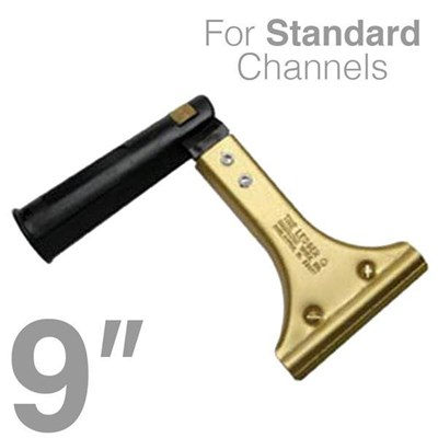 Ledger Handle 9in Swivel for Thick Channel Image 1