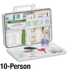 First Aid Kit - For 10 Persons