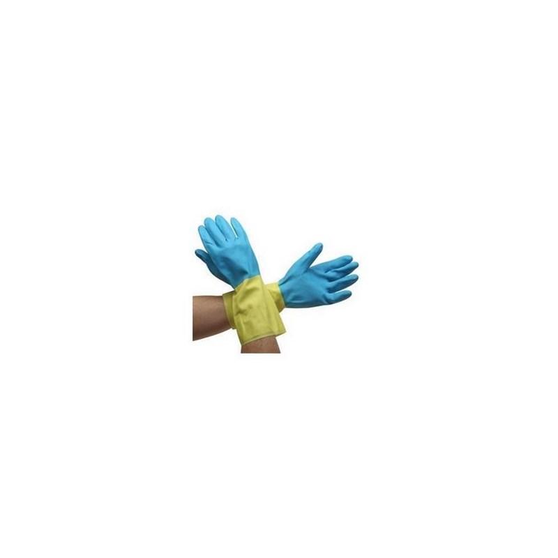 Gloves Neoprene/Latex Chem Resistant LG