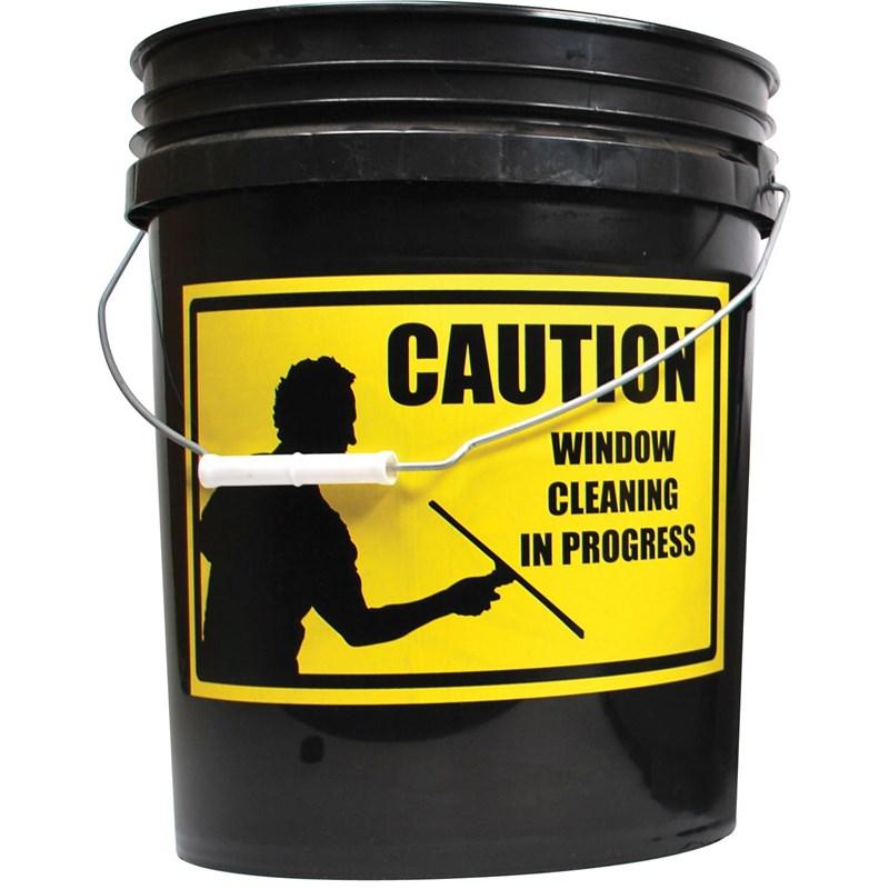 Window Cleaning In Progress Label Image 88