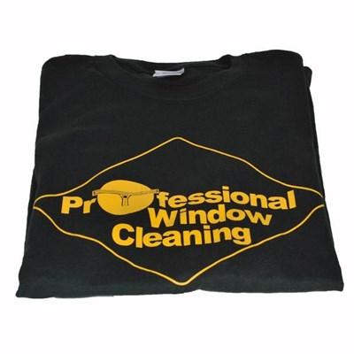 T-Shirt Professional Window Cleaner Green