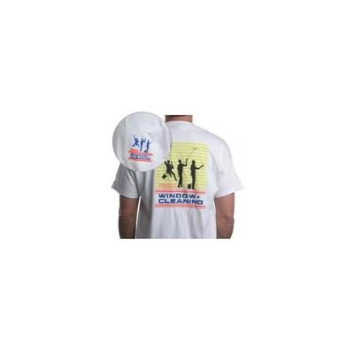 White T-Shirt 3Dudes Large