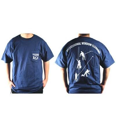 Navy T-Shirt 4 Dudes XL