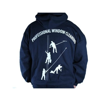 Navy Sweatshirt 4 Dudes w/Hood XXL