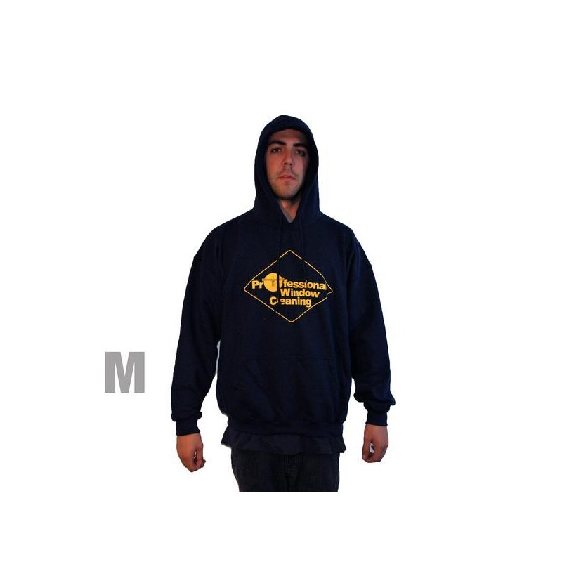 Navy Sweatshirt w/Hood Medium