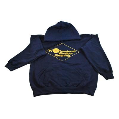 Navy Sweatshirt w/Hood Medium Image 88