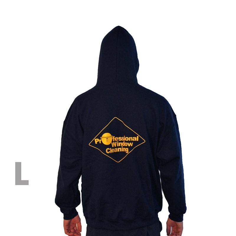 Navy Sweatshirt w/Hood Large Image 88