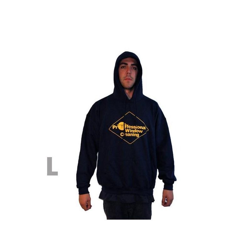 Navy Sweatshirt w/Hood Large