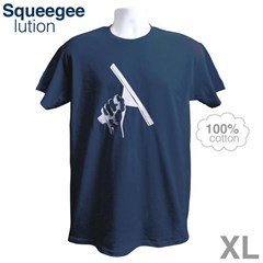 Navy T-Shirt XL Squeegeelution