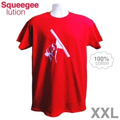 Red T-Shirt XXL Squeegeelution