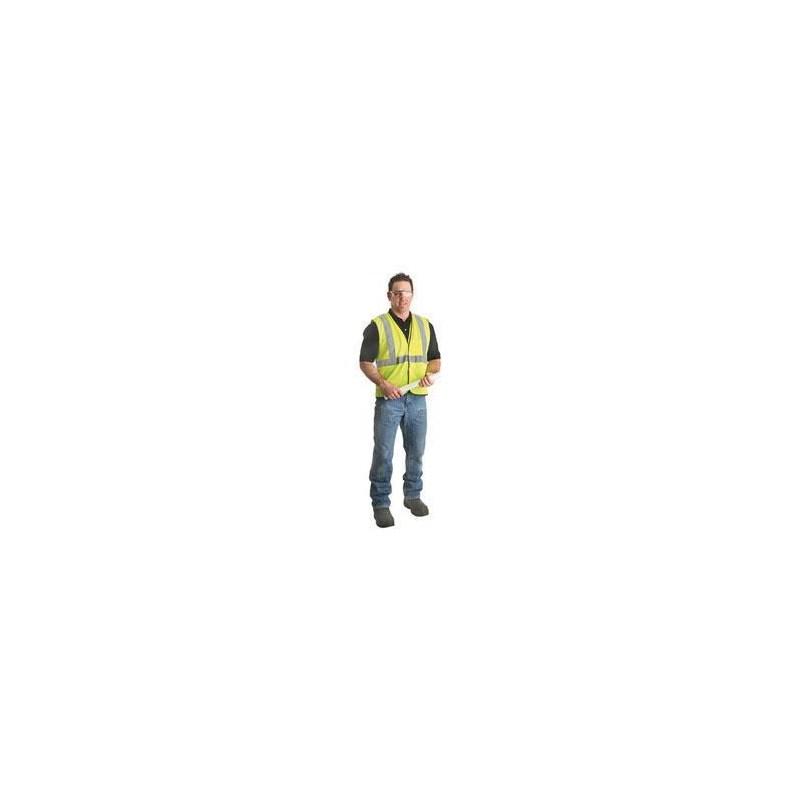 Vest Yellow Hi-Vis Reflective L-XL