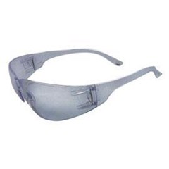 Safety Glasses Gray w/Anti-Scratch Lens
