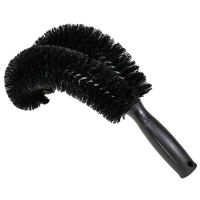 """Pipe Brush, Curved 11"""", Unger"""
