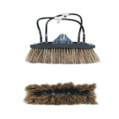 Unger Brush nLite Boar Hair for Euro Water-Fed poles