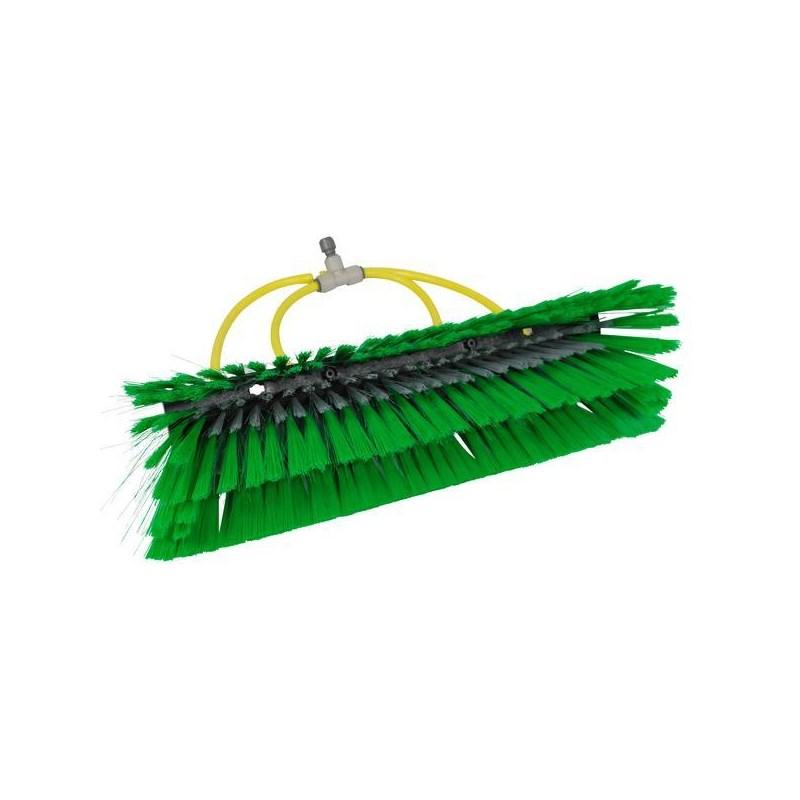 Unger Brush nLite Radius Green for Euro Water-Fed poles