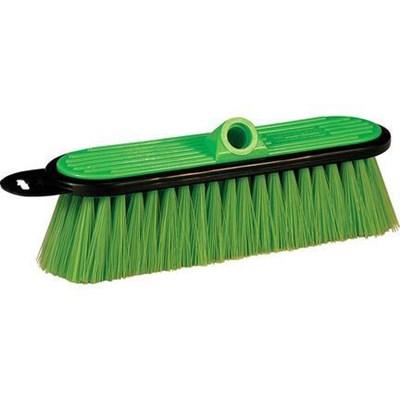 Brush 10in Green Very Soft  for FlowThru