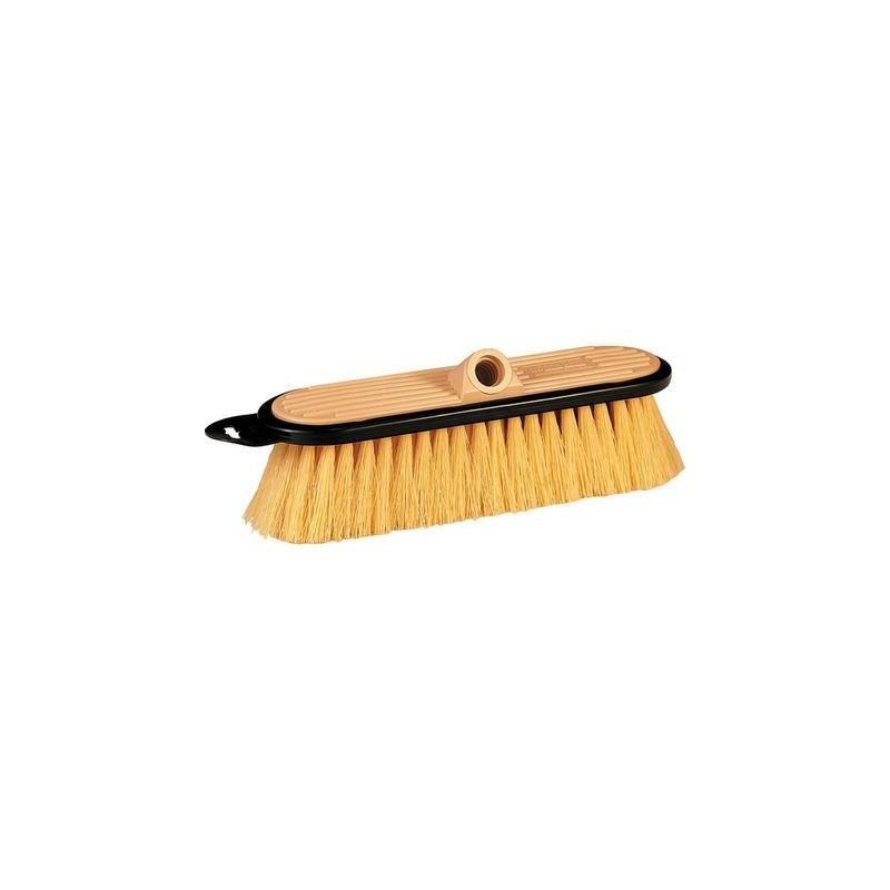 HydraSoar Stiff 10in Beige FlowThru Brush