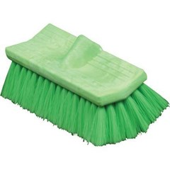 Brush Bi-Level 10in Green Very Soft