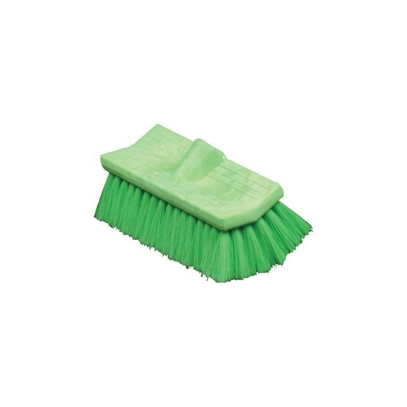 Brush Bi-Level 10in Green Very Soft