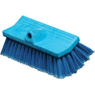 Brush BiLevel 10in Blue Soft FlowThru