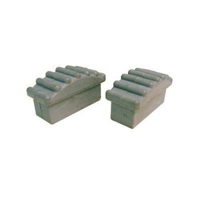 Ladder Plugs Rubber (2) Metallic